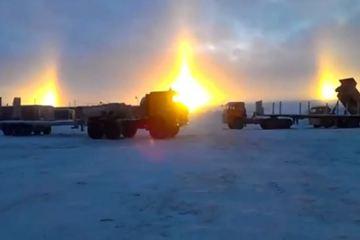 Σιβηρία: Όταν ο ήλιος ανατέλλει από 3 σημεία την ίδια στιγμή!