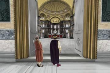 Αγία Σοφία: Ταξίδι σε 1.500 χρόνια ιστορίας μέσα από ένα βίντεο