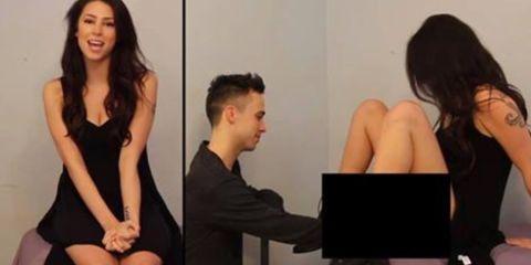 Ομοφυλόφιλοι άνδρες βλέπουν και αγγίζουν γυναικείο μόριο για πρώτη φορά στη ζωή τους!