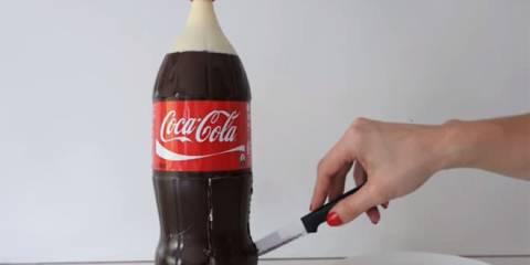 Μοιάζει με ένα συνηθισμένο μπουκάλι Coca-Cola