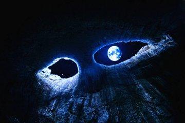 εντυπωσιακό σπήλαιο με τις τρύπες που οι ντόπιοι αποκαλούν τα «μάτια του Θεού