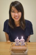 生日蛋糕是瑞士卷!