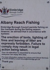 albany reach sign