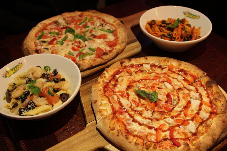 Broccoli Pasta & Pizza in Soho London