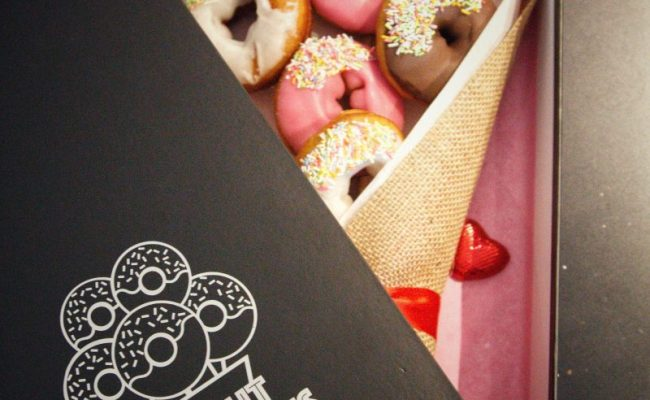 Donut Delivery London Unique Gifts Flower Alternatives
