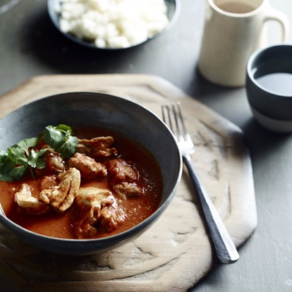 CHICKEN CURRY HEAVEN – NO NASTIES, ONLY GOODNESS
