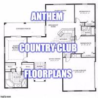 Anthem Floor Plans