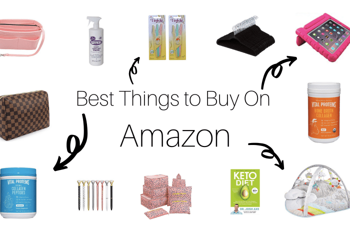 Best Things to Buy On Amazon