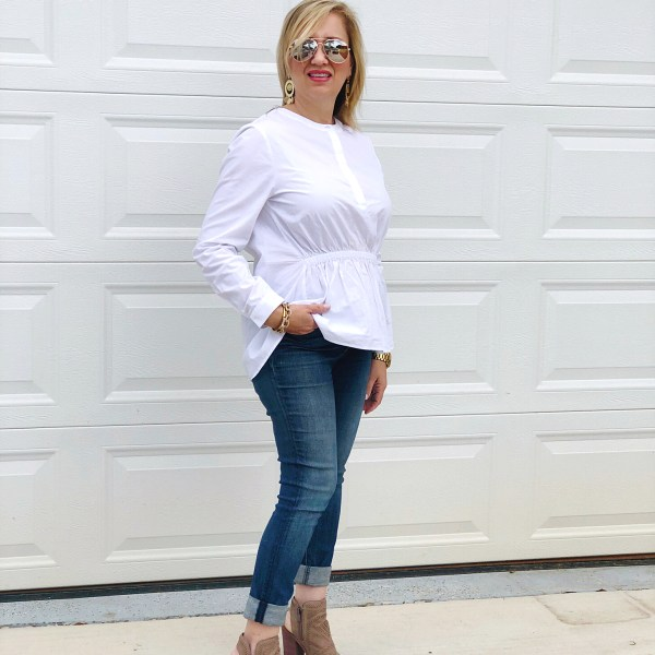 Current Favorite White Blouse