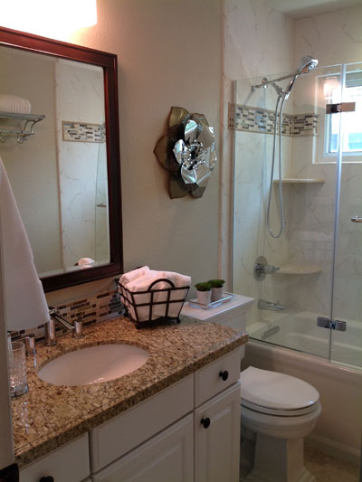 Guest Bathroom Remodel Parker CO  All About Bathrooms  More