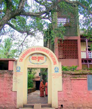 The house in Risaldar Galli where Swami Vivekananda stayed