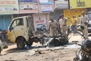 chlorine cylinder blast which occurred near Shivaji Garden