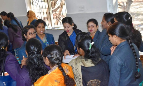 "Education India's ""Nirmaan"" teacher training program"