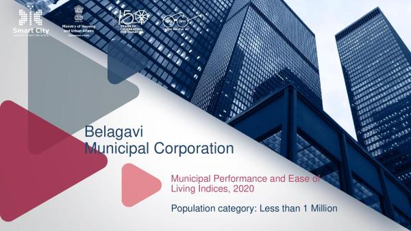 Rankings for Ease of Living Index 2020 – Belagavi ranks 47