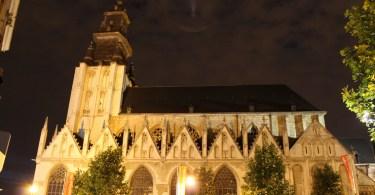 ブリューゲルゆかりのブリュッセルのノートルダム・ラ・シャペル教会