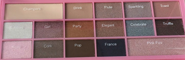 1e949 img 2907 - I HEART MAKEUP - I HEART CHOCOLATE PINK FIZZ EYESHADOW PALETTE