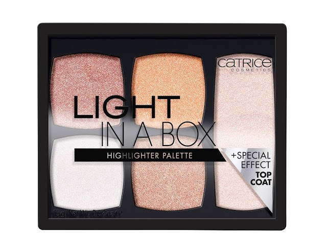 2709f catrice light in a box highlighter palette front view closed - CATRICE ASSORTIMENT UPDATE VOORJAAR 2018