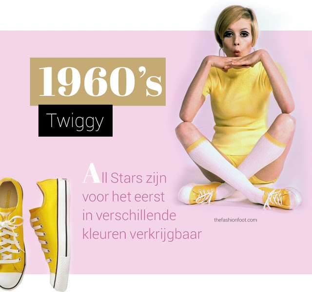 65e58 2 twiggy - 100 JAAR CONVERSE ALL STARS