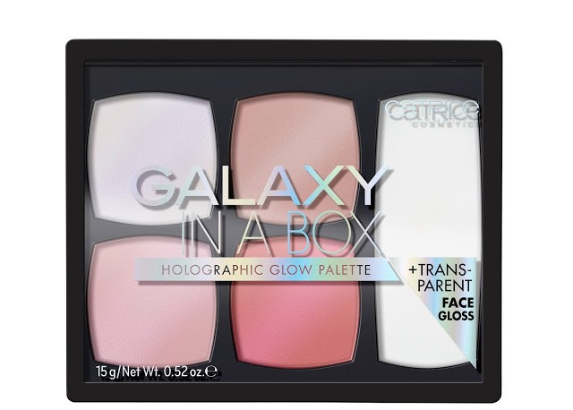 6aefd catrice galaxy in a box holographic glow palette front view closed - CATRICE ASSORTIMENT UPDATE VOORJAAR 2018