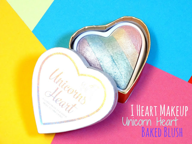 83e9c dsc00129252812529 - I Heart Makeup Unicorn Heart Baked Blush