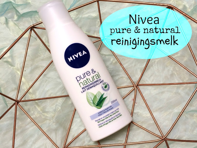 897a6 img 7850 - Nivea Pure & Natural reinigingsmelk