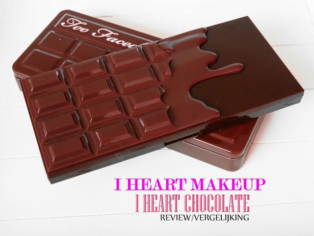 9a070 dsc031292b252822529 - I HEART MAKEUP I HEART CHOCOLATE REVIEW / VERGELIJKING TOO FACED CHOCOLATE BAR