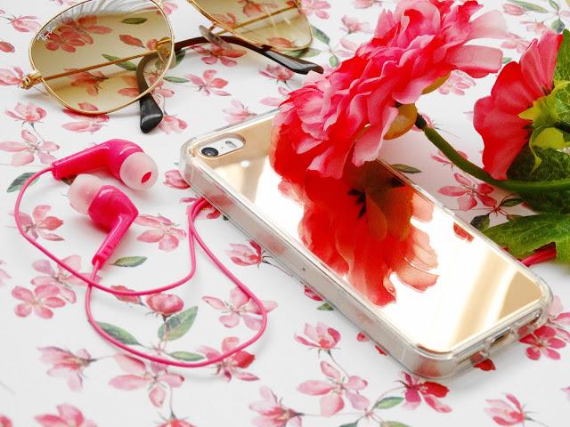 b0bcb dsc018292b252812529 - Ringke Fusion Mirror Apple iPhone SE spiegel hoesje Rose Gold