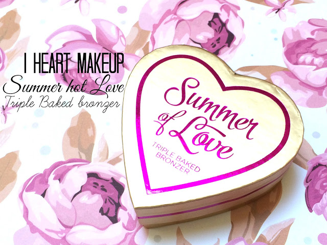 d985b img 2617 - I HEART MAKEUP Blushing Hearts - Love Hot Summer Triple Baked Bronzer