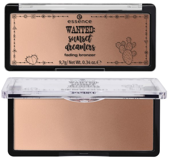 "fading bronzer closed - PREVIEW │ ESSENCE TREND EDITION ""WANTED SUNSET DREAMS"""