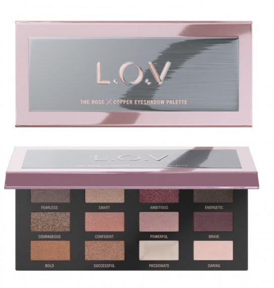 4059729035011 L.O.V THE ROSE X COPPER eyeshadow palette P2 os 300dpi - L.O.V. UPDATE