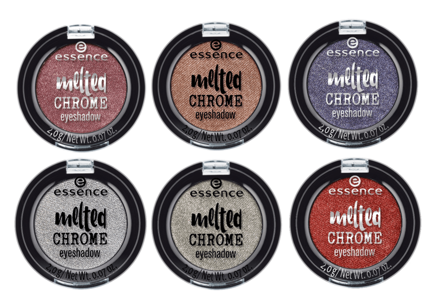 melted chrome eyeshadow - ESSENCE UPDATE HERFST/WINTER 2018