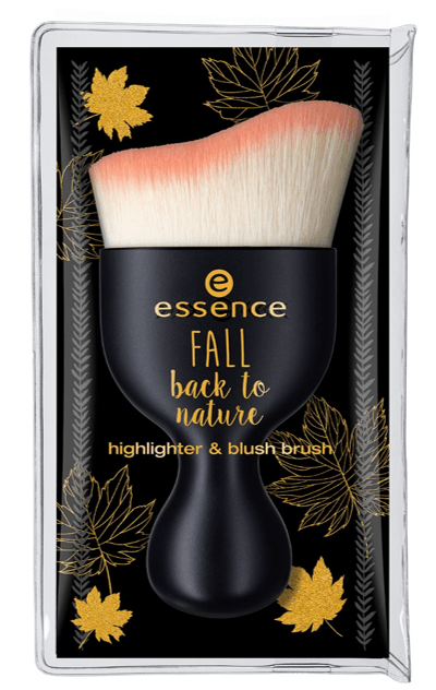 "essence fall back to nature blush highlighter palette brush - PREVIEW │ ESSENCE TREND EDITION ""FALL BACK TO NATURE"""