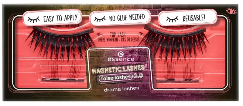 453033 drama lashes Image Front View Closed - PREVIEW│ESSENCE MAGNETIC LASHES! FLASE LASHES 2.0