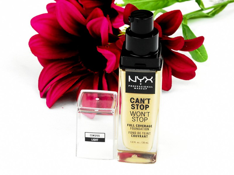 NYX Professional Makeup's Can't Stop Won't Stop Full Coverage Foundation