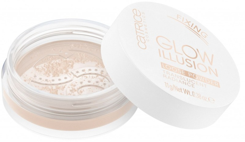 4059729192189 Glow Illusion Loose Powder Image jpg Front View Half Open - CATRICE ASSORTIMENT UPDATE LENTE / ZOMER 2019