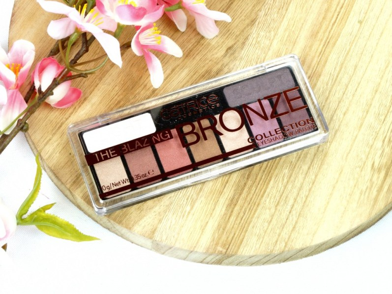 DSC05694 InPixio edited - CATRICE THE BLAZING BRONZE COLLECTION EYESHADOW PALETTE