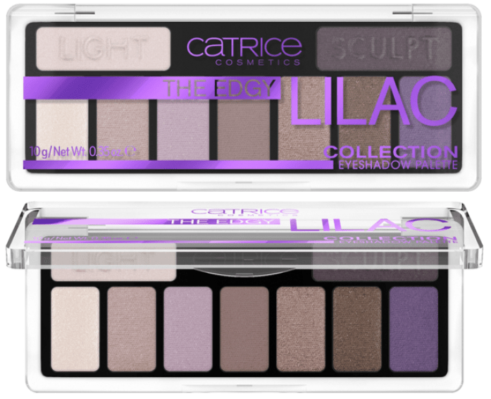 THE EDGY LILAC COLLECTION EYESHADOW PALETTE - CATRICE ASSORTIMENT UPDATE LENTE / ZOMER 2019