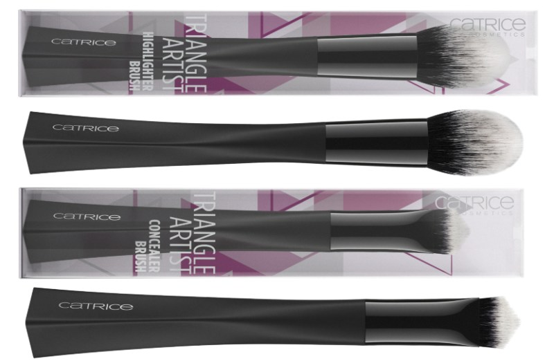 TRIANGLE ARTIST BRUSHES - CATRICE ASSORTIMENT UPDATE LENTE / ZOMER 2019