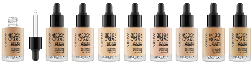 catrice one drop coverage - CATRICE ASSORTIMENT UPDATE LENTE / ZOMER 2019
