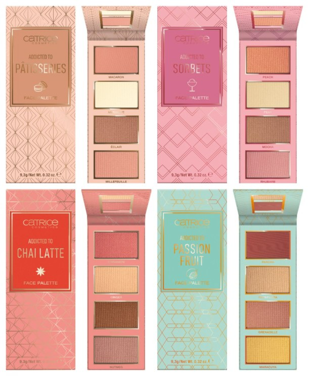 CATRICE Palettes love essence brushes limited edition FACE PALETTES - PREVIEW │ CATRICE PALETTES LOVE ESSENCE BRUSHES