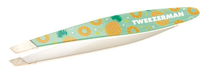 Mini Slant tweezer pineapple punch - PREVIEW │ TWEEZERMAN GET TROPICAL MINI TWEEZERS
