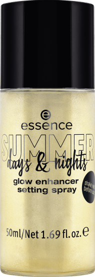 578410 essence SUMMER days nights glow enhancer setting spray 01 go with the glow - PREVIEW │ESSENCE SUMMER DAYS AND NIGHTS