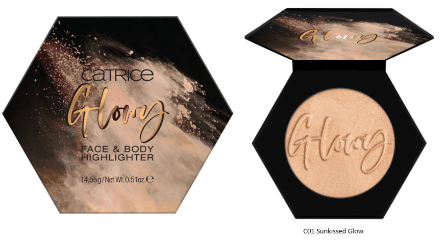 CATRICE Sun Glow Face Body Highlighter - PREVIEW│CATRICE LIMITED EDITION 'SUN GLOW'