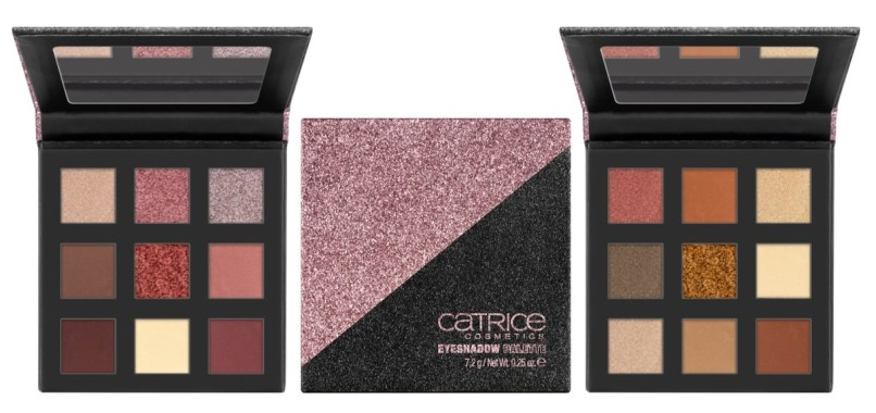 CATRICE LIMITED EDITION GLITTERHOLIC EYESHADOW PALETTE - PREVIEW │CATRICE LIMITED EDITION 'GLITTERHOLIC'