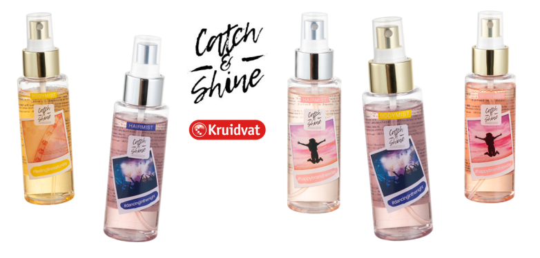KRUIDVAT CATCH & SHINE BODY & HAIR MIST