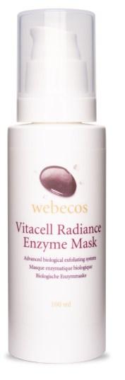 Vitacell Radiance Enzyme Mask 100ml kopie - STRALENDE EN MOOIE HUID MET VITACELL RADIANCE