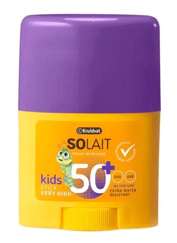 Kruidvat Solait Kids Sunstick SPF50 - VEILIG IN DE ZON MET KRUIDVAT SOLAIT