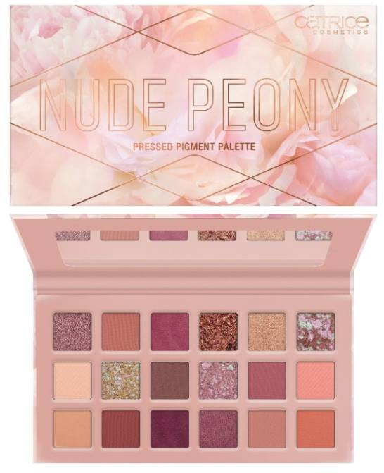 CATRICE NUDE PEONY BOLD GOLD PRESSED PIGMENT PALETTE 2 - CATRICE LENTE / ZOMER UPDATE 2021