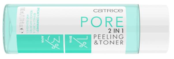 CATRICE PORE 2 IN 1 PEELING TONER - CATRICE LENTE / ZOMER UPDATE 2021