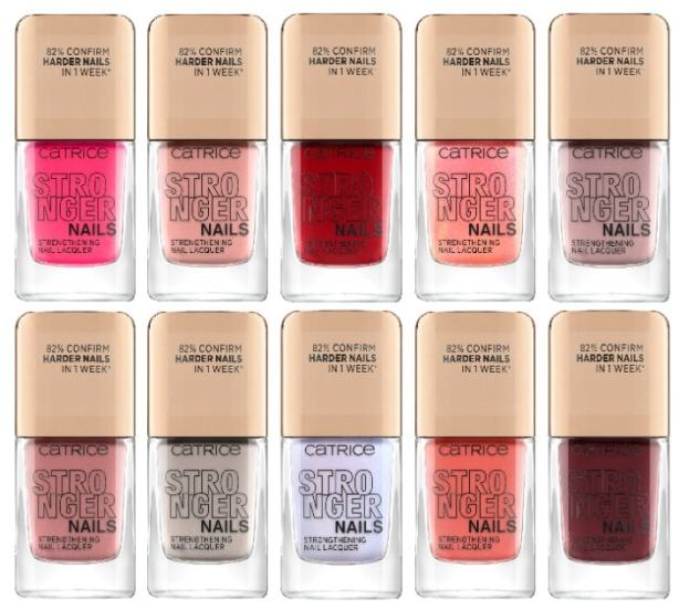 CATRICE STRONGER NAILS STRENGTHENING NAIL LACQUER - CATRICE LENTE / ZOMER UPDATE 2021